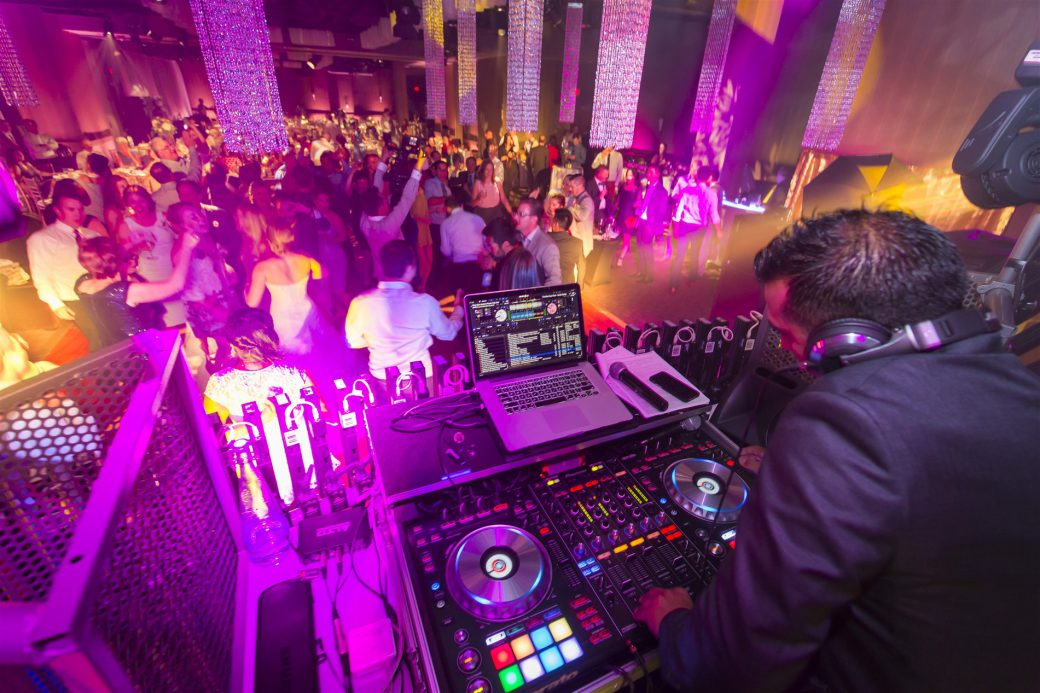 Hire dj for your wedding reception